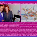 CINDY CRAWFORD!  THE LEGENDARY SUPER MODEL / PHILANTHROPIST SUPPORTS CHILDREN WITH LEUKEMIA! - 454 x 315