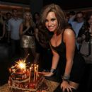 Demi Lovato 18th birthday party at Buddakan on August 19, 2010 in New York City.