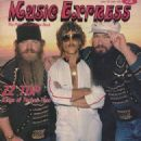 Frank Beard, Dusty Hill, Billy Gibbons - Music Express Magazine Cover [Canada] (June 1983)