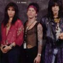 Kelly Nickels, Tracii Guns and Phil Lewis - 416 x 500