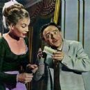 Kenneth Connor and Shirley Eaton