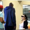 Lamar Odom spotted at Wells Fargo Bank  in Beverly Hills, California on January 31, 2017 - 454 x 599