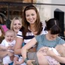 Charlotte Church - Breastfeeding Awareness Week Campaign At The Millenium Centre In Cardiff, 12.05.2008.