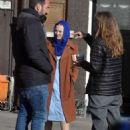 Dakota Fanning – Filming 'Sweetness in the Belly' in Dublin - 454 x 629