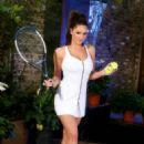 Lucy Pinder - Onlytease Tennis Set