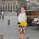 Zoey Deutch – Arriving at Dior Dinner in Paris
