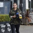 Coleen Rooney – In camo Out and about in Cheshire - 454 x 628