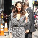 Olivia Munn at 'Good Morning America' show in New York City
