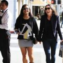 Christina Milian  out to lunch with friends at Il Pastaio in Beverly Hills, California on January 11, 2017 - 446 x 600