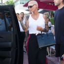 Amber Rose at the Sugar Factory in Miami