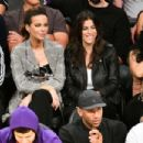 Kate Beckinsale – Watch basketball game between the LA Lakers and the Houston Rockets