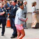 Keke Palmer – Arriving at 'Good Morning America' in NYC - 454 x 625