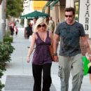 Tori Spelling - Torry Spelling And Husband In Beverly Hills, 2008-08-17
