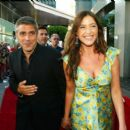 George Clooney and Lisa Snowden - 454 x 395