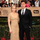 Emily Blunt and John Krasinski At The 2017 Screen Actors Guild Awards In Los Angeles - 454 x 681