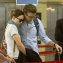 Olivia Wilde and Jason Sudeikis Leave LA