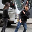 Victoria Justice Filming Eye Candy In Nyc