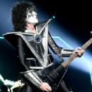 Tommy Thayer of Kiss performs onstage at Staples Center on March 04, 2020 in Los Angeles, California