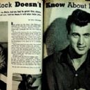 Rock Hudson - Movie Life Magazine Pictorial [United States] (September 1958) - 454 x 296