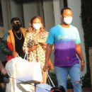 Chrissy Teigen with John Legend – Shopping candids on Melrose place