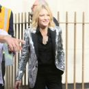 Cate Blanchett – Arriving at the Late Late Show with James Corden in London