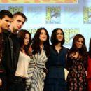 The Twilight Saga: Breaking Dawn - Part 1 at Comic Con Panel on July 21, 2011 in San Diego, California - 454 x 291