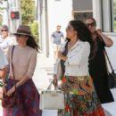 Salma Hayek at E Baldi in Beverly Hills