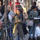 Thandie Newton – Shopping in New York - 454 x 630