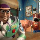 Buzz, Hamm, Bo Peep, Mr. Potato Head®, Rex and Slinky® Dog in Disney's Toy Story 2 - 11/99