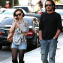 Lily Collins and Matt Easton Out in West Hollywood, CA (November 3, 2014)