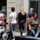 Sophie Turner and Joe Jonas – Out for some lunch in Barcelona - 454 x 407