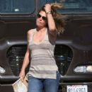 Daisy Fuentes Shopping In Los Angeles