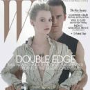 Michael Fassbender and Mia Wasikowska W Magazine Photos (2011)