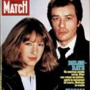 Alain Delon - Paris Match Magazine Cover [France] (February 1984)