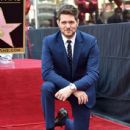 Michael Buble Honored With Star On The Hollywood Walk Of Fame - 437 x 600