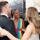 Justin Timberlake and Jessica Biel : 70th Emmy Awards - 454 x 333
