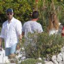 Rosie-Huntington-Whiteley and Jason Statham in France