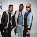 Amber Rose and Kanye West Attend the Michael Bastian presentation during Mercedes-Benz Fashion Week Fall 2009 at 637 West 27th Street in New York City. - February 16, 2009