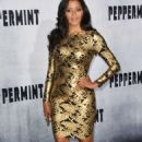 Claudia Jordan – 'Peppermint' Premiere in Los Angeles - 454 x 739