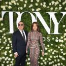 Tommy Mottola and Thalia- 2017 Tony Awards - Arrivals - 454 x 590