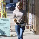 Emma Roberts at Alfred Coffee in Los Angeles