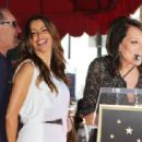 Ed O'Neill At His Walk Of Fame with Sofia Vergara & Katey Sagal