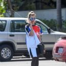Margot Robbie – Seen While Out In Marina Del Rey - 454 x 563