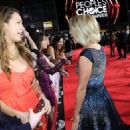 Julianne Hough: attends the 34th Annual People's Choice Awards at Nokia Theatre L.A. Live - 454 x 325