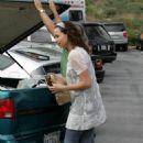 Minnie Driver - Candids In Malibu