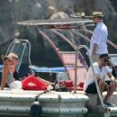 Nicole Richie and Joel Madden: Out on the Water in the South of France - 454 x 334