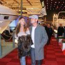 DAVID COULTHARD British Formula 1 Racing Driver With girlfriend SIMONE ABDELNOUR Attending the London Boat Show - 454 x 712