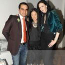 Designers Bibhu Mohapatra, Vera Wang and L'Wren Scott attend the 2010 CFDA New Members party at Wang's residence in New York - 27 October 2010 - 400 x 600