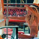 Nicky Whelan in Bikini on the pool in Las Vegas - 454 x 381