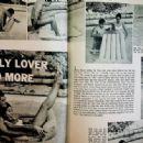 John Saxon - Movie Life Magazine Pictorial [United States] (March 1958) - 454 x 333